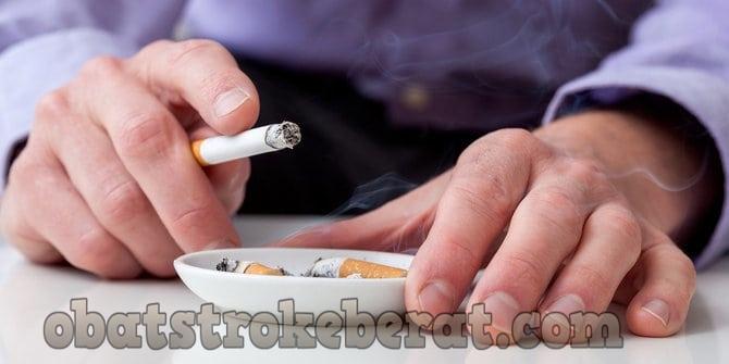 rokok picu stroke