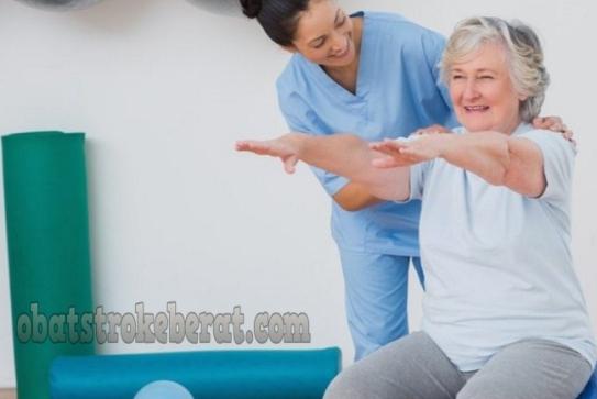 olahraga stroke